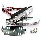 PLC020 - Luces diurnas LED para coche, 5050SMD, R87, E4, autorizadas por la legislación alemana de...