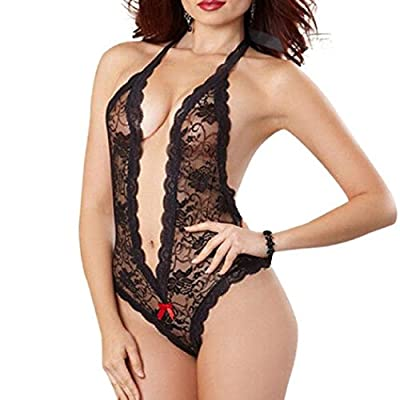 HARRYSTORE Sexy Women Lace Babydoll Plus Size Underwear Lingerie Dress Sleepwear Suit Wild Temptation