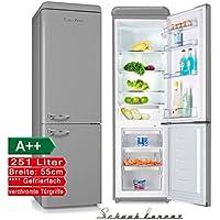 Schaub Lorenz sl250g Rétro Réfrigérateur Congélateur Gris Classe  d efficacité énergétique   A + 4dfead5282ad