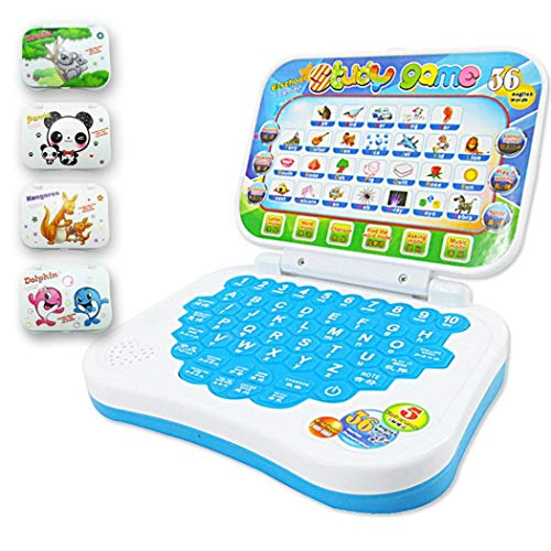 Gfone Lernen Maschine Lesen Baby Früh Lernmaschine Baby Multifunktionssprach pädagogische Spielwaren Lerncomputer ab 3 Jahre Farbe Zufällig