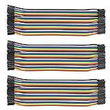 120 pezzi maschio-femmina cavetti per raspberry pi 3 cavetti / cavi arduino / arduino jumper / wire cable/ wire Arduino(3*40 Pin maschio-femmina)