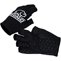 Rhino Pro Rugby Sports Players Hand Protection Gloves Half Finger Stick Mitts