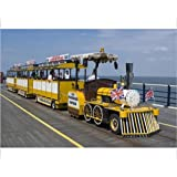 Photographic Print of The Promenade Express, the noddy train that runs along the pier, Southport