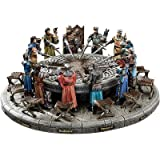 Design Toscano King Arthur and the Knights of the Round Table Sculptural Set
