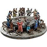 Design Toscano König Arthur und die Ritter der Tafelrunde, Skulpturen-Set