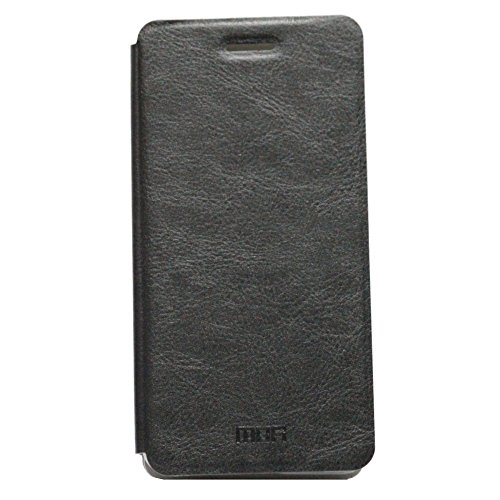 Jo Jo Mofi Leather Flip Cover Case With Slim Back Stand For Asus Zenfone 4.5 A450Cg Black  available at amazon for Rs.69