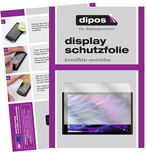 dipos I 2X Schutzfolie klar passend für Medion LifeTab X10311 Folie Bildschirmschutzfolie