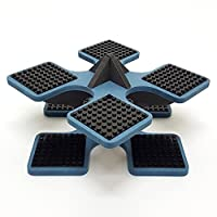Base Ace Mini Kit Blue and Black, compatible with all leading construction toy building brick brands