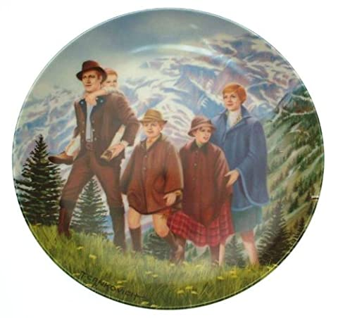 Knowles The Sound of Music Climb chaque Mountain Plaque Crnkovich CP1807 T