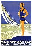 The Poster Corp San Sebastian Kunstdruck (69,85 x 100,33