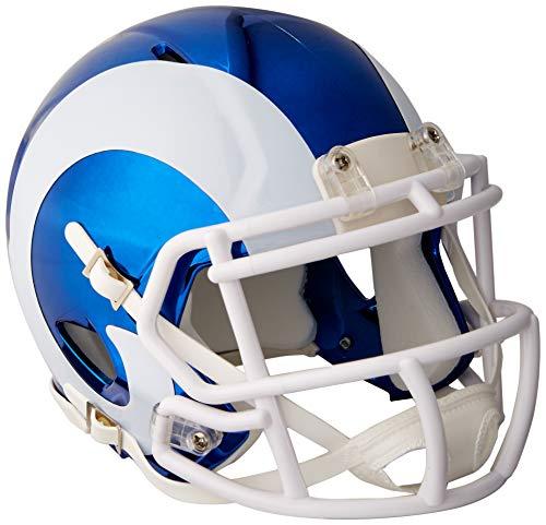Riddell Mini Football Helm - NFL Chrome Los Angeles Rams