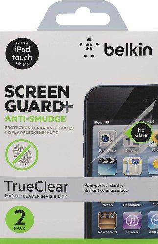 Belkin Screen Overlay Schutzfolie (Anti Finger Print, 2er-Pack, geeignet für iPod Touch 5) transparent Belkin Screen Overlay