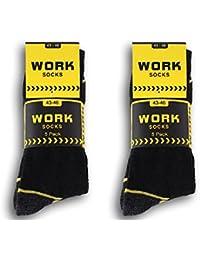 10 | 20 Paar Arbeitssocken für Damen und Herren aus Baumwolle Strümpfe WORK Socks, sehr Robust für Arbeit, Outdoor und Freizeit