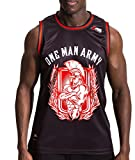 ONE MAN ARMY MMA Jersey Harsh, Tank Top schwarz, atmungsaktiv, Sport & Freizeit