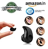#4: Teconica S530 Ultra Small V4.1 Stereo Bluetooth Wireless Headset Earphone Compatible with All Android and iOS Devices {Assorted Colour}