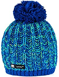 493968f5758 Beanie Hat WOOLLY Knitted Cookies Eskimo Style Wool with Ponpon Men s  Women s Winter Warm SKI Snowboard