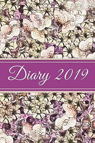 Diary 2019: Purple Floral por Veropa Press