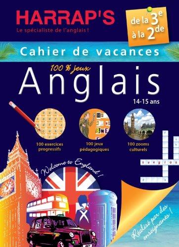 Harrap's Cahier de vacances anglais - De la 3ème à la 2nde