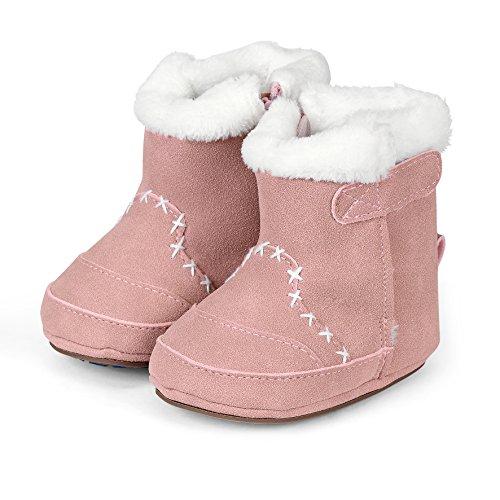 Billig Mädchen Stiefel - Sterntaler Mädchen Baby Stiefel mit