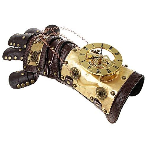 Brazalete metalizado con cadenas