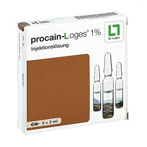 Procain Loges 1% Injektionslösung Ampullen 5X2 ml