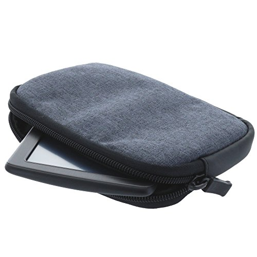 Universal Soft Case Navi Tasche für 7 Zoll (17,8cm) Navigationgeräte für Becker active / Blaupunkt / Garmin Modelle - grau (70 D-gps)