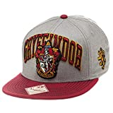 Harry Potter Unisex Baseball Cap Gryffindor House Crest, rot, One Size