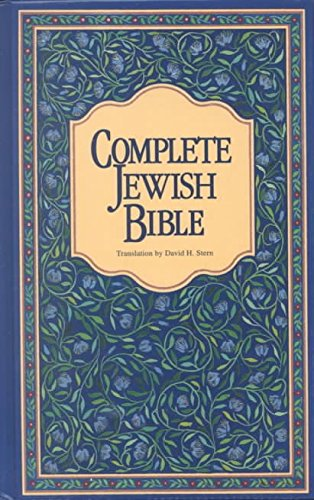 complete-jewish-bible-oe-translated-by-david-h-stern-published-on-june-1998