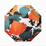 WANBAOYS Ombrellone - Protezione UV - Ombrello Pieghevole con Protezione Solare