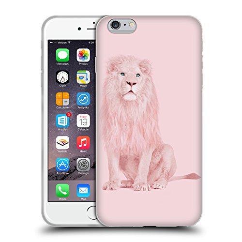 Ufficiale Paul Fuentes Lama Unicorno Animali 2 Cover Morbida In Gel Per Apple iPhone 6 Plus / 6s Plus Leone Albino