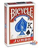 Mazzo BICYCLE Indice grande (US Playing Card Company)