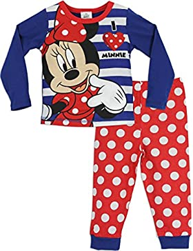 Minnie Mouse - Pigiama a maniche lunghe per ragazze - Disney Minnie Mouse