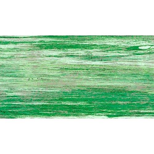 Wachsplatten / Verzierwachs 'Gemustert Grün' (1 Stück / 175 x 80 x 0,5 mm) TOP QUALITÄT