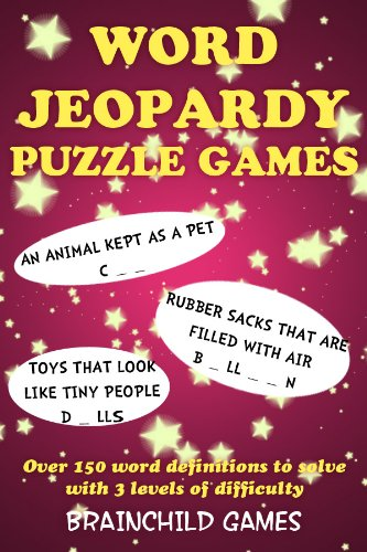 Jeopardy Spielen (Word Jeopardy Puzzle Games (English Edition))