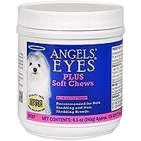 Angels Eyes AENSC120PLBF 120 Cuentas de Ojos de ángel Plus Masticar Suave para Perros