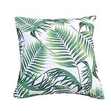 Clara Kissen Tropical Outdoor Garten Scatter Kissen palm leaf wasserabweisend Jungle rainforest dekorative faux Leinen