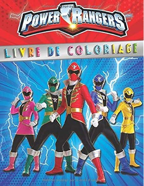 Power Rangers Livre De Coloriage Livre De Coloriage Special Pour Les Fans Amazon Fr Box Coloring Livres