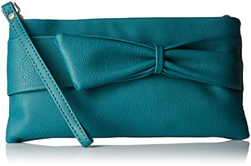 Caprese Women's Clutch (Emerald)  available at amazon for Rs.1150