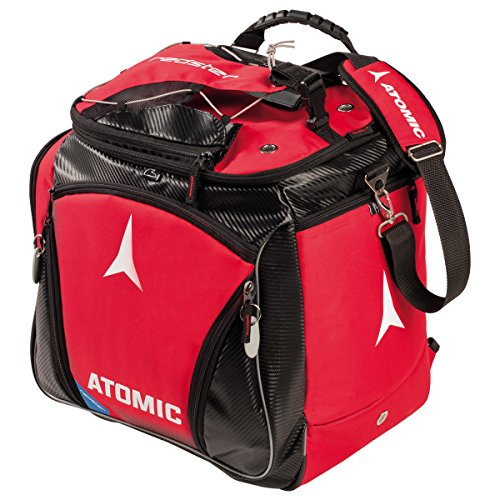 ATOMIC AL5021910 Bolsa para Botas de esquí térmica, Redster Heated 220 V, Unisex Adulto, Rojo, 45 litros, 47 x 40 x 24 cm