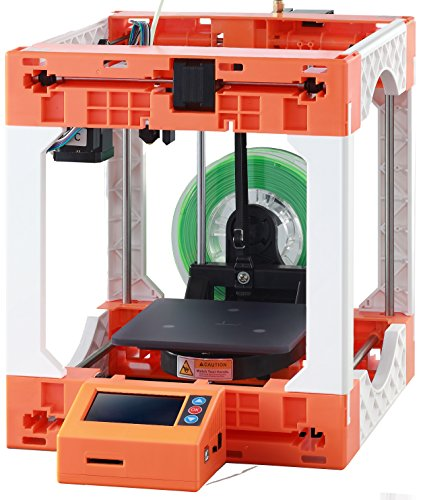 MINI Cube 3D Printer Kit DIY by WEEDO F100 Easy to Assemble with LCD Screen Single Extruder PLA Filament 1.75mm