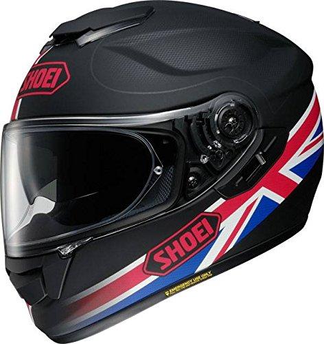 Preisvergleich Produktbild Motorrad Shoei GT Air Helm Royalty TC-1 – Schwarz Rot Weiß Blau UK Verkäufer