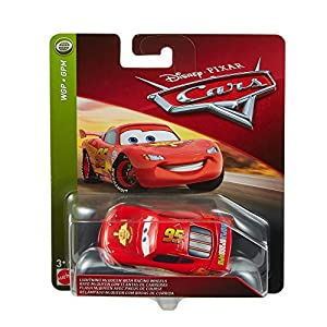 Disney Cars Rayo Mcqueen, Coches Juguetes Niños 3 Año (Mattel FLM20)