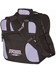 Storm Solo Single Tote Black/Lavender by Storm