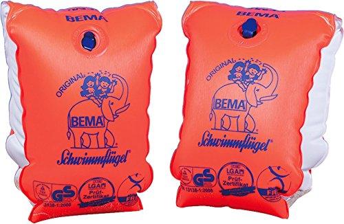 Bema Original Schwimmflügel, Größe 1, 30-60 kg/6-12 Jahre (Schwimmflügel 30-60 kg, Orange)