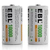 Best D Batteries - EBL D Size Rechargeable Batteries D Cell 10,000mah Review