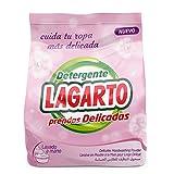 Lagarto Ecopack Detergente en polvo PRENDAS DELICADAS , Lavado a mano  400 gr. Paquete de 10 x 400- Total 4000 gr