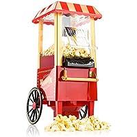 Gadgy Popcorn Machine | Retro Palomitero Pop Corn Maker | Aire Caliente Sin Grasa Aceita