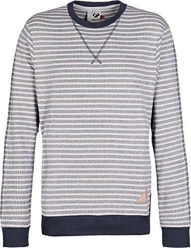 Ragwear Adam Stripes Sweater navy (Adams Sweatshirt)