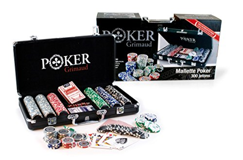 Smir?360325?World Poker Tour?Aluminium Fall?Schwarz American Grimaud Poker 300Chi Preisvergleich