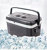 SHISHANG 45L großer Auto-Kühlraum beweglicher im Freiendoppelsystem-Kühlschränke ABS-Material 12V Auto 220V Haushaltsenergie 54-78 (W) Gewicht 12kg Größe 67 * 41 * 40 * cm